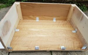 Are you looking at making your own dog bed? Then take a look how we made a dog bed from one pack of wood flooring. Often you have left over wood flooring, so why not make something from it and create a dog bed.
