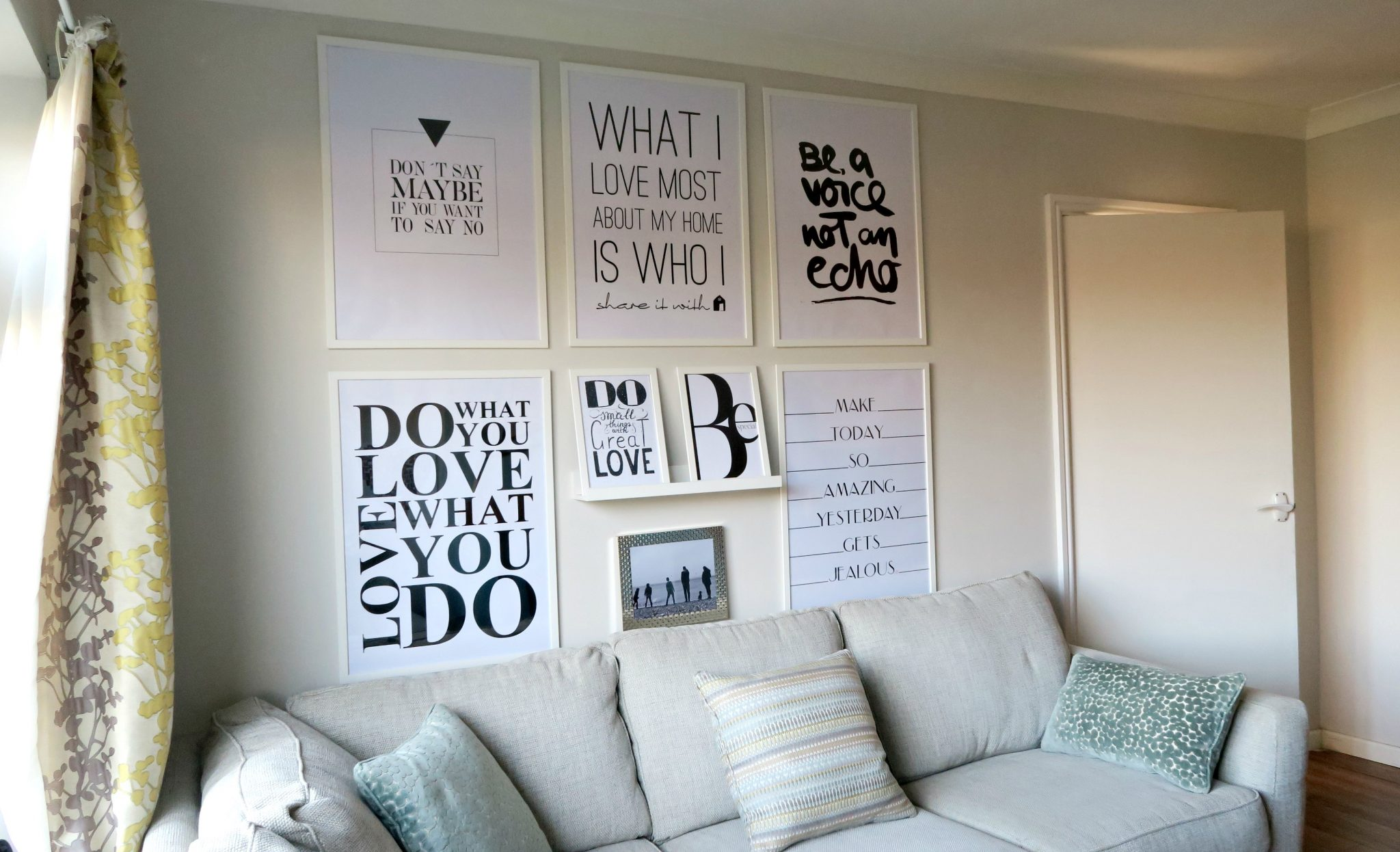 How To Create An Inspirational Quote Wall
