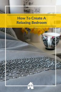 How To Create A Relaxing Bedroom. We all want a relaxing place to sleep, and somewhere where we can chill out. So here are my tops tips on how to create a relaxing bedroom.