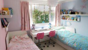 Twin Girls Bedroom Reveal