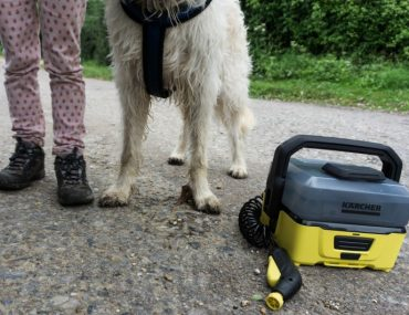 Karcher portable pressure washer