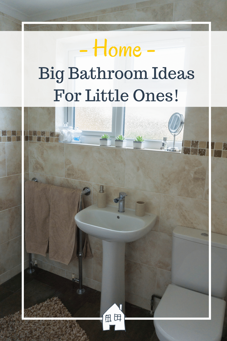 Big bathroom ideas for little ones! Bathroom ideas. Bathroom interiors. small bathroom ideas