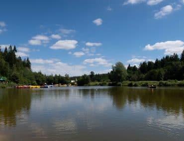 Center Parcs Longleat lake