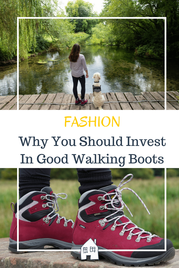 Why you should invest in good walking boots and why I love my walking boots. A walking boot review testing out a good pair of waking boots for walking