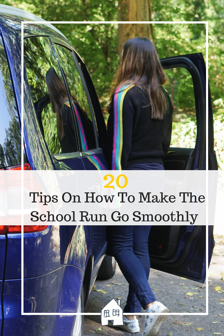How to make the school go smoothly. school run tips and school run made easier