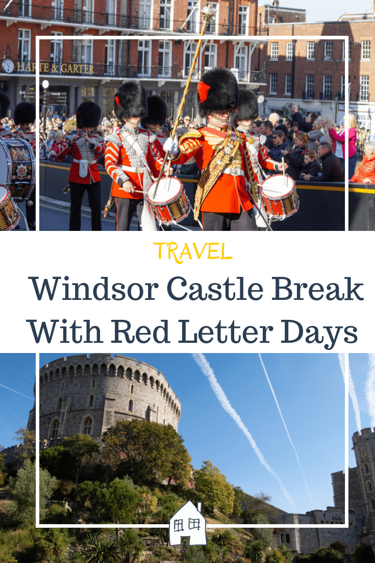 a trip to windsor with red letter days for their windsor break. A visit to Windsor Castle included too